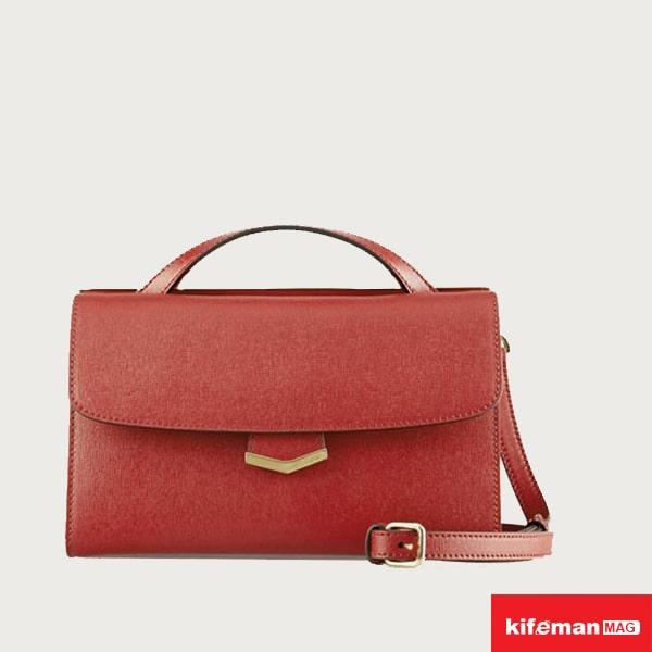 مدل کیف دوشی چرم ساده